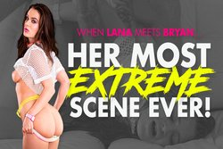 Lana Rhoades' Most Extreme Scene Ever