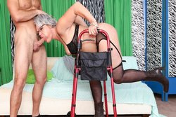Horny Grannies Love To Fuck 12, Scene 1