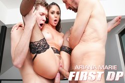 Ariana Marie: First DP Makes Her Gape!, Scene 1